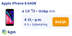 Apple iPhone 8 64GB met KPN